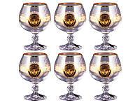 Набор бокалов для коньяка NB Art Медуза 250 мл 6 шт , 615-239