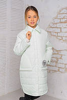 Модные детские куртки парки для девочек демисезонные