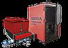 Стальной трехходовой водогрейный котёл серии BRS 100-2500 LM с механизированной подачей топлива