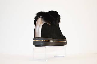 Ботинки женские осенние c мехом кролика Sopra 76-1, фото 3