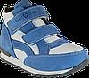 Кросівки ортопедичні високі унісекс. Блакитні з білим. 21-30р