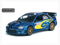 KINSMART Subaru Impreza WRS 2007, метал, инерц., в кор. 16х8х7 /96-4(KT5328W)