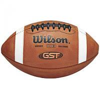 Мяч для американского футбола Wilson W GST LEATHER OFFICIAL SS17