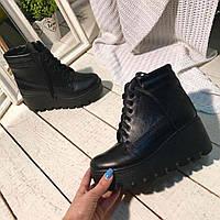 Модные женские зимние ботинки. Украина