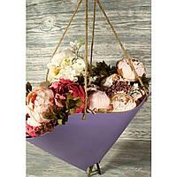Упаковка (пакет картонный) для большого букета цветов 1821365-3