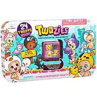 Набор фигурок Twozies S1 - Большая компания (12 малышей, 12 питомцев, домик) (57033)