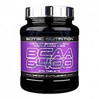 Scitec Nutrition BCAA 6400 БЦАА аминокислоты для роста мышц восстановление спортивное питание