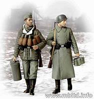Поставки, в конце концов! Немецкие солдаты, 1944-1945. 1/35 MASTER BOX 3553