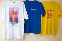 Печать на футболках, флажках, ткани