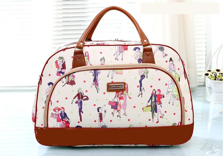c77ff1e1c31b Дорожная сумка для девушки прикольный принт - Интернет магазин Lisbag в  Умани