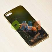 Чехол силиконовый GOLD iPhone 7 No9062