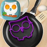 Форма Сова для жарки яиц и оладей, фото 1