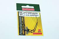 Поводок Bratfishing 1х7 Wire Leader (цена за пачку)