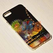 Чехол силиконовый GOLD iPhone 7 No9068