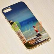 Чехол силиконовый GOLD iPhone 7 No9143