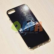 Чехол силиконовый GOLD iPhone 7 No9045