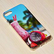Чехол силиконовый GOLD iPhone 7 No9131