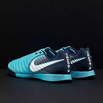 Футзалки Nike Tiempo Ligera IV IC 897765-414 (Оригинал), фото 3