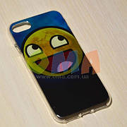 Чехол силиконовый GOLD iPhone 7 No9052