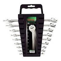 Набор ключей комбинированных на холдере 9 шт. TOPTUL GAAC0901
