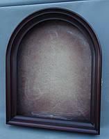 Киот для арочной иконы, с внутренней деревянной рамой, открывающийся., фото 2