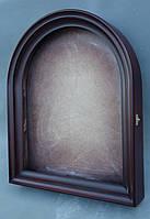 Киот для арочной иконы, с внутренней деревянной рамой, открывающийся., фото 4