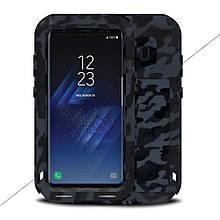 Чехол противоударный Love Mei для Samsung Galaxy S8 G950 Camouflage City