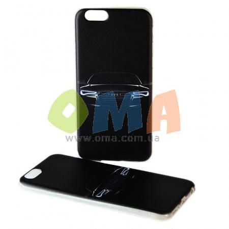 Чехол силиконовый GOLD iPhone 6/6S No09  Audi, фото 2