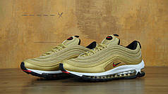 Кроссовки женские Nike Air Max 97 Gold топ реплика