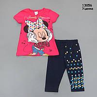 Летний костюм Minnie Mouse для девочки. Маломерит. , фото 1