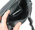 Мужская сумка из кожи Always Wild 0163-52223 чёрная, фото 9