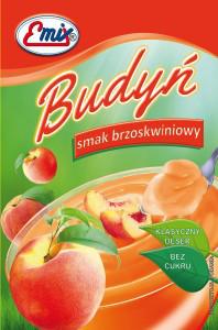 Порошок для приготовления пудинга Emix персиковый, 41 гр
