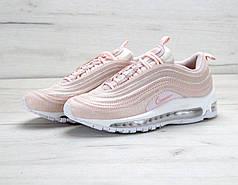 Женские кроссовки Nike Air Max 97 Pink топ реплика