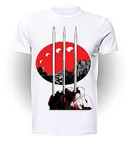 Футболка мужская GeekLand Росомаха Wolverine China art WL.01.003