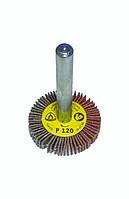 Круг лепестковый в оправке Klingspor 30x5 p120