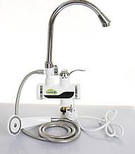 Электрический водонагревательный душ и кран