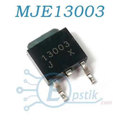 MJE13003, Транзистор быполярный NPN, 700В 1.5А 25Вт, TO252