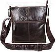 Кожаная мужская сумка LA9017-3DBR коричневый, фото 2