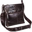Кожаная мужская сумка LA9017-3DBR коричневый, фото 6