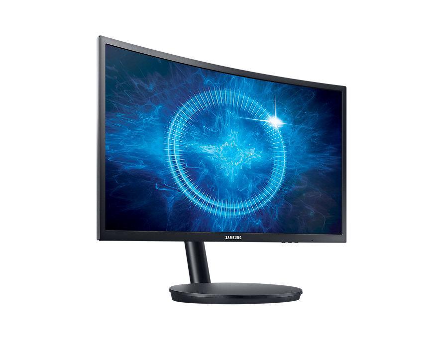 """Монитор Samsung Curved C24FG70F 24"""" VA FullHD (LC24FG70FQIXCI) """"Over-Stock"""""""