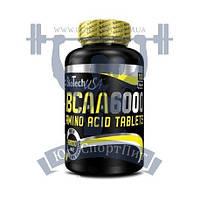 BioTech BCAA 6000 БЦАА Аминокислоты для тренировок спортивное питание