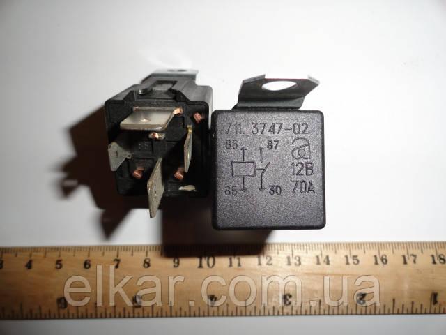 """Реле стартера 12В/70А  (4 конт.) 711.3747-03 (вир-во """"Авар"""")"""