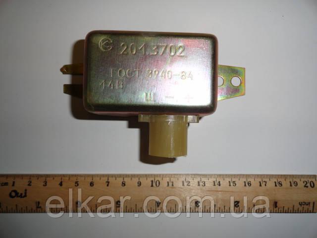 Реле-регулятор штекерний 14В   201.3702 (Совєк)