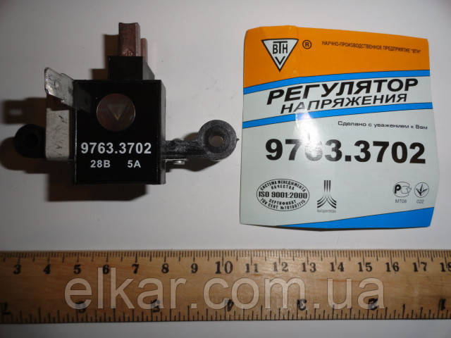 """Реле-регулятор з щітками 28В   9763.3702 (Вир-во """"ВТН"""")"""