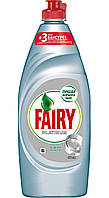 """Fairy. Жидкое средство для мытья посуды Fairy Platinum """"Ледяная свежесть"""", 650мл  (992325)"""