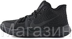 Баскетбольные кроссовки Nike Kyrie 3 Marble Найк Кайри Ирвинг черные