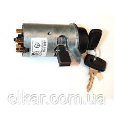 Замок запалювання з ключем 1902-3704-01 ВАЗ,КАМАЗ,МАЗ(нові мод. з блокув. руля і ст.) (Автоарматура)