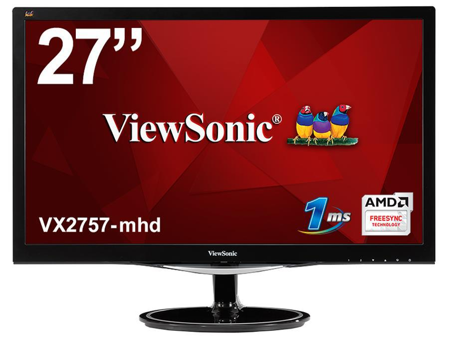 "Монитор 27"" ViewSonic VX2757-MHD 27"" FullHD 1ms AMD FreeSync (VS16327) ""Over-Stock"""