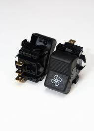 Перемикач вентилятора (3 полож.) П147-03.12  ВАЗ   (WTE)