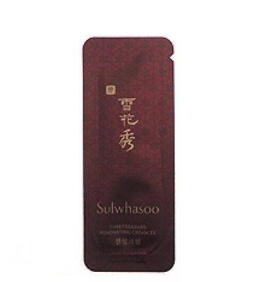 Sulwhasoo Антивозрастной Крем для лица Пробник Timetreasure Renovating Cream Ex 1 ml